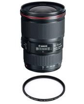 Canon Ef 16-35mm F4L Is Usm + Hoya 77mm Pro 1D Protector - $1,010.21