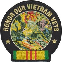 HONOR OUR VIETNAM VETS  PATCH - $11.87