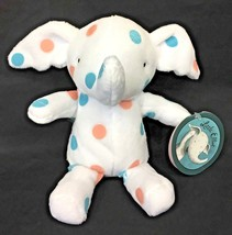 "MerryMakers Little Elliot Spotted Polka Dot Elephant 8"" Plush Mike Curat... - $14.95"
