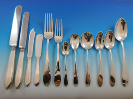 Pointed End by AJ Stone Sterling Silver Flatware Service Set Dinner 218 ... - $16,995.00