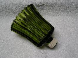 Green Ribbed Peg Votive Candle Holder. - $9.00