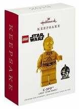 Hallmark  C-3PO  Lego Star Wars  Keepsake Ornament 2019 - $17.30