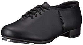 Theatricals Child Lace Up Tap Shoes T9500CBLK01.5M Black 1.5 M US Little... - $20.89