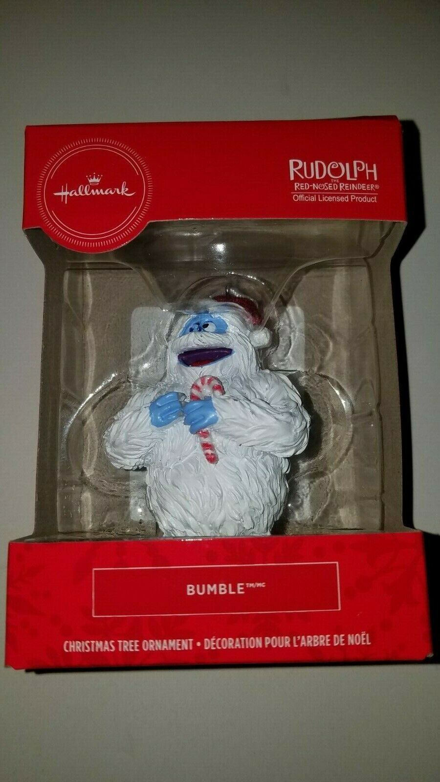 Primary image for hallmark ornament bumble from rudolph the red nosed reindeer new in box