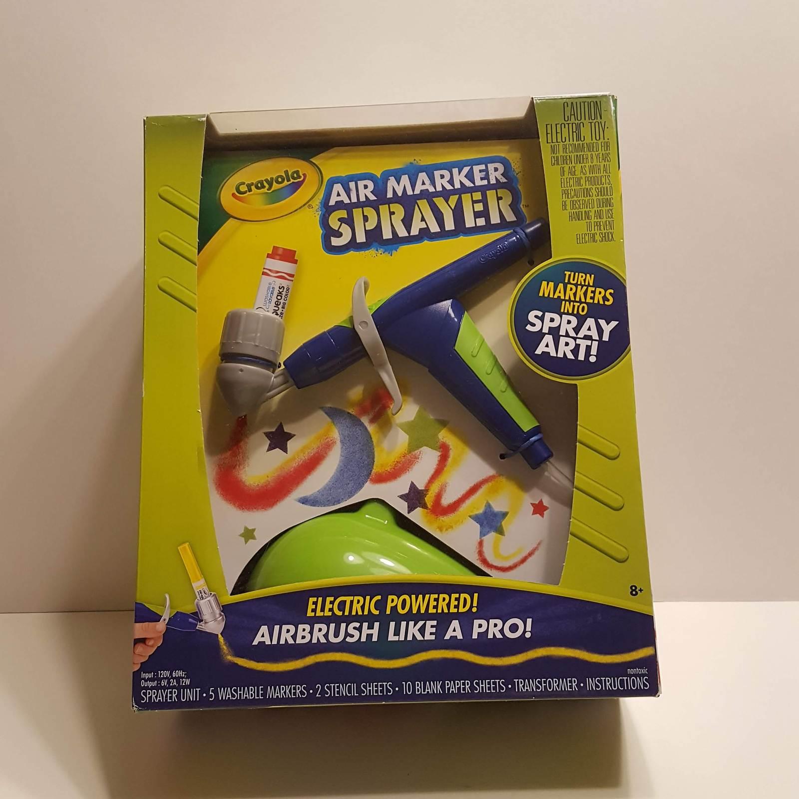 Crayola Air Marker Sprayer Set Airbrush And 50 Similar Items