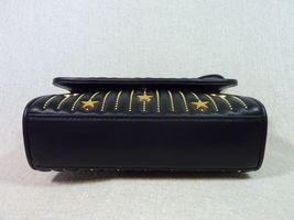 NWT Tory Burch Black Fleming Star-Stud Small Convertible Bag $558 image 6