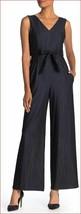 Nuevo Calvin Klein Mujer Mono Mono Pantalones Top CD9D11MT Azul Marino 4... - $47.21