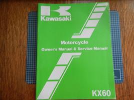 1983 83 Kawasaki KX60 KX60-A1 Kx 60 KX60A1 Owner's Owner Service Manual #2 - $9.94