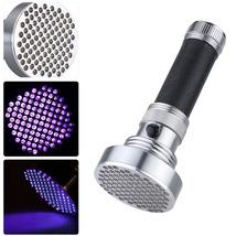 Ultra Violet Bright 100 LED Flashlight Black Light - $381,02 MXN