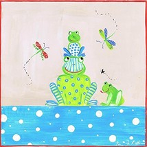 The Kids Room by Stupell Frogs with Dragonflies Square Wall Plaque - $44.28