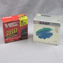 """Lot Of Two NEW BASF Floppy Disks 3.5"""" 2HD High ... - $28.04"""