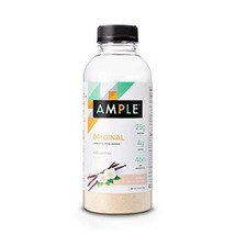 Ample - Meal Replacement Shake in a Bottle, Pack of 12 Meals, Regular 400 Calori