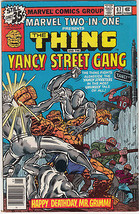 1979 Marvel Comics Group Marvel Two In One The Thing and The Yancy stree... - $10.84