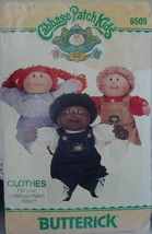 "Cabbage Patch Kids Clothing 16"" 6508 Shirt, Overall, Jumper, Pants UNCUT 1984 - $5.99"