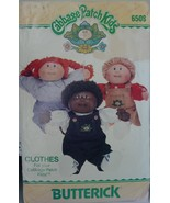 """Cabbage Patch Kids Clothing 16"""" 6508 Shirt, Overall, Jumper, Pants UNCUT 1984 - $5.99"""