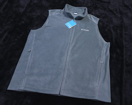 NWT NEW COLUMBIA MENS Full Zipped Steens Mountain VEST Size 2X Green - $47.41