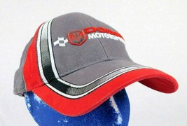 Dodge Motorsports Gray Red Baseball Hat Cap Charger Challenger Box Shipped - $19.99