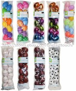 WAL-MART* 12pc Plastic EASTER EGGS For Candy/Treats BASKET FILLER *YOU C... - $3.59