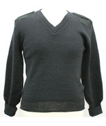 BRITISH WOOL ARMY JUMPER PULLOVER WOOLLY PULLY OUTDOOR UNIFORM SECURITY ... - $29.34