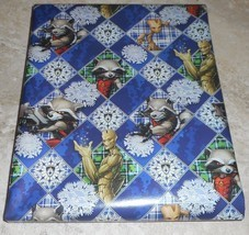 Guardians of the Galaxy American Greetings Christmas Wrapping Paper 20 sq ft Rol - $5.50