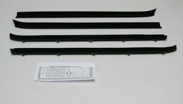 1981-1987 CHEVY TRUCK WINDOW BELTLINE WEATHERSTRIP KIT 4 PIECES - $79.30