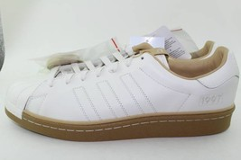 ADIDAS CONSORTIUM X KASINA SUPERSTAR BOOST MEN SIZE 12.0 NEW RARE WHITE GUM - $148.49