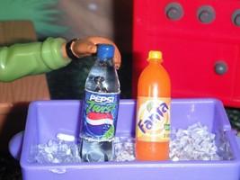 Bottle of Pepsi Twist Orange Fanta Soft Drink Lot fits Loving Family Dol... - $5.99