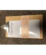 """Clipboard and Notepad 5"""" x 8.5"""" Hardcover Ruled Libby VanderPloeg for Ca... - $9.75"""