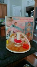 Vintage Moppets Secret Doll House Knickerbocker Rare 1980 Toy Box Collectible - $87.40
