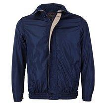 Men's Microfiber Golf Sport Water Resistant Zip Up Windbreaker Jacket Benny (XL,