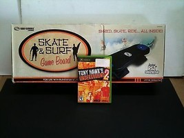NEW SKATEBOARD CONTROLLER & TONY HAWK UNDERGROUND 2 For ORIGINAL XBOX - $34.95