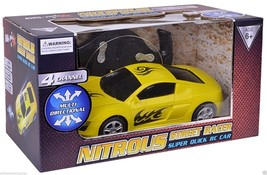 NITROUS STREET RACER. SUPER QUICK REMOTE CONTROL CAR. SHIPS FAST / SHIPS... - $19.75