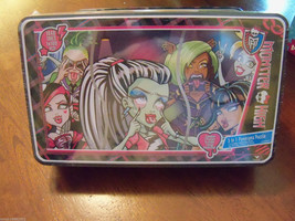 Monster High 3 in 1 Panorama Puzzle in a Reusable Tin NEW - $23.76