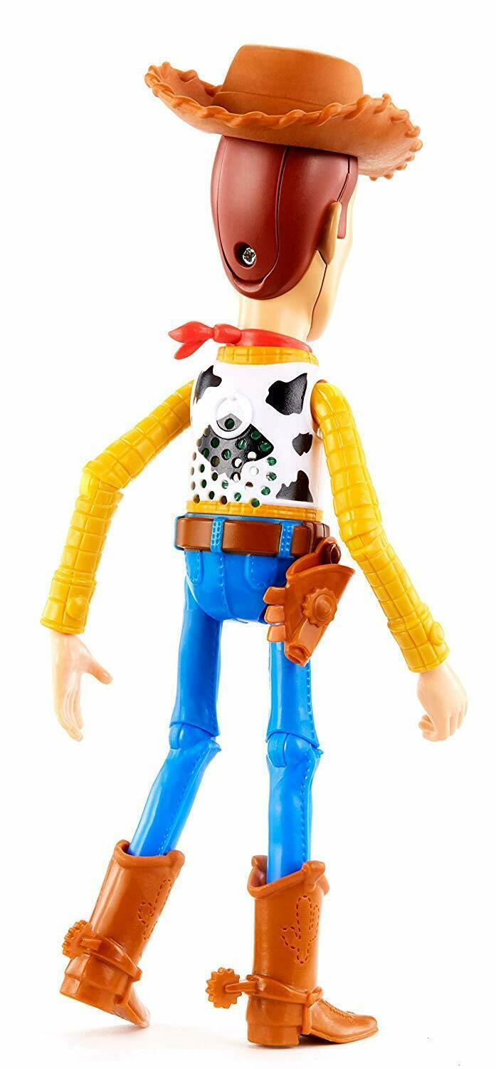 "Disney Pixar Toy Story 4 True Talkers Talking Woody Figure 9.2"" BRAND NEW image 5"