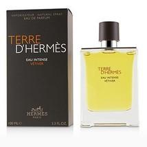 Terre D'Hermes Eau Intense Vetiver Eau De Parfum Spray  100ml/3.3oz - $218.44