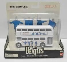 """NEW IN ORIGINAL PACKAGING THE BEATLES  """"HELP"""" DIE- CAST BUS   SET 2 - £23.05 GBP"""