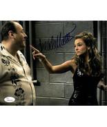 Drea de Matteo signed The Sopranos 8x10 Photo (Adriana La Cerva w/ Tony ... - $39.95