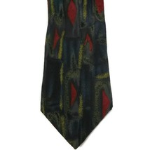 Zylos George Machado Men's Necktie 100% Silk Green, Blue, Red - $7.09