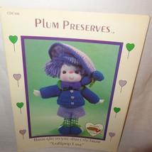 Plum Preserves Doll Pattern Lollipop Lane Dumplin Designs Crochet 1984 C... - $9.99