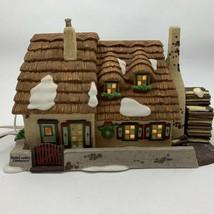 Dept 56 Dickens Village The Christmas Carol Cottage Chimney No Magic Smoke - $34.00