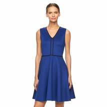 REED by Reed Krakoff Fit & Flare Dress - Blue Women's Large L - $32.47