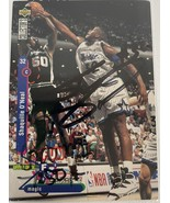 Shaquille O'Neal & David Robinson Signed Autographed UD CC Basketball Card - $129.99