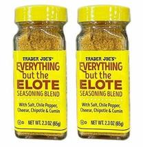 Trader Joe's Everything But The Elote Seasoning Blend 2.3 Oz! 2 pack - $19.79