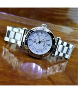 Vintage Swiss Esquire ESQ By Movado Seatime Polished Stainless Steel Wat... - $295.00