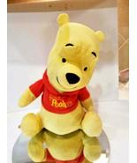 Disney WINNIE THE POOH Sings Talks moves toy Fisher Price Teddy BEAR kid... - $0.98