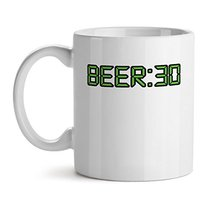 Beer:30 - Mad Over Mugs - Inspirational Unique Popular Office Tea Coffee Mug Gif - $17.59