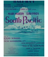 Sheet Music ~ Bali Ha'i ~ South Pacific ~ Rodgers & Hammerstein - $8.56