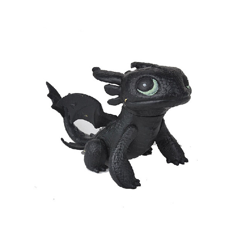 Full set 8 pcs juguetes how to train your dragon 2 action figures night fury toothless  3