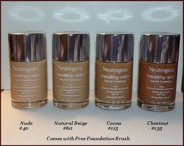 NEW Neutrogena Healthy Skin Liquid Makeup ~SPF 20  Choose Your Shade  FR... - $10.95