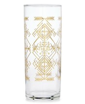 Easy Tiger Thug Life Cocktail Glass, Clear Gold - $26.45 CAD